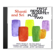 """Shanti and Sri"" by Fritz Renold Quartet plus Two - CD"