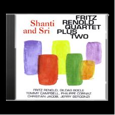 """Shanti and Sri"" by Fritz Renold Quartet plus Two - CD"