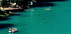 Music Holiday Switzerland : Aare Swimming